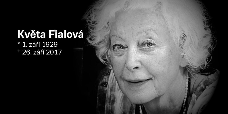 Zemřela Květa Fialová
