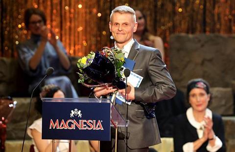 Cena Thálie 2015 pro Radima Madeju za Novecento