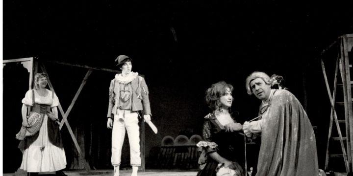Hanswurst v dochtorském divadle na trzích nepostradatelný aneb Pražští ševci