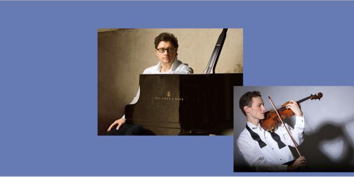 Miroslav Sekera – klavír a Josef Špaček – housle