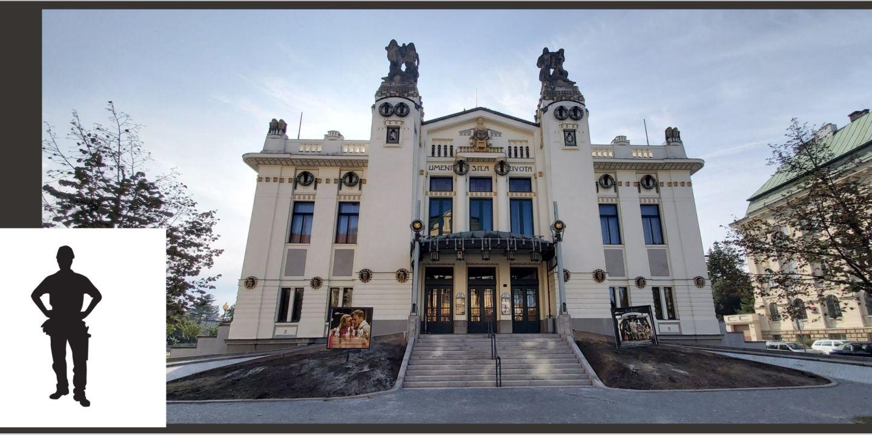 """Městské divadlo Mladá Boleslav přijme pracovníka na pozici """"pracovník techniky scény – jevištní technik""""."""